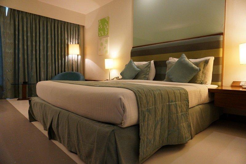 Łóżko w apartamencie