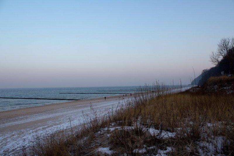Wypoczynek nad morzem zimą
